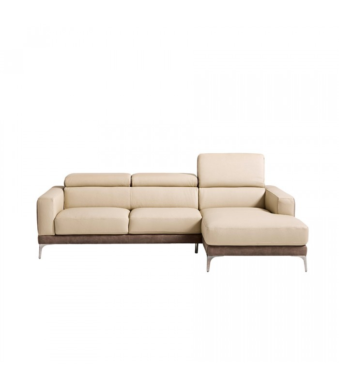 Sof tres plazas chaise longue enna for Sofa tres plazas chaise longue